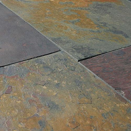 Rustic Sheera Multi Colour Slate Wall & Floor Tiles